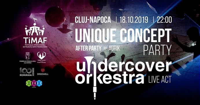 18 octombrie TIMAF – Undercover Orkestra