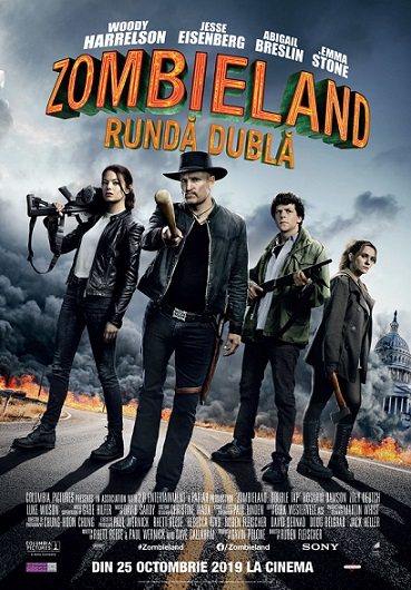 24 octombrie Avanpremieră Zombieland: Double Tap
