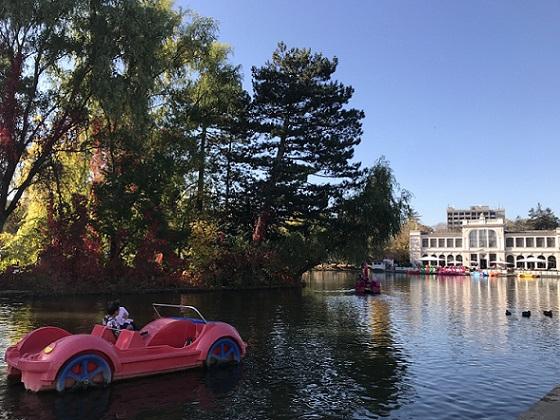 Ultimul weekend cu hidrobicicletele pe lacurile Clujului