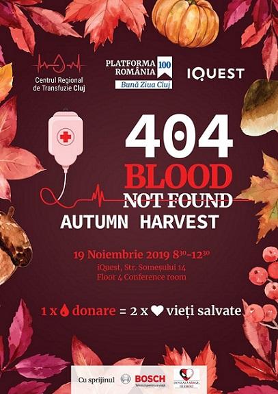 19 noiembrie 404 Blood not Found