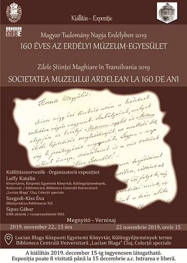 Expoziția Societatea Muzeului Ardelean la 160 de ani