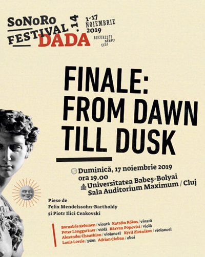 Oferim 6 invitatii duble la concertul Finale: From Dawn till Dusk din cadrul festivalului Sonoro