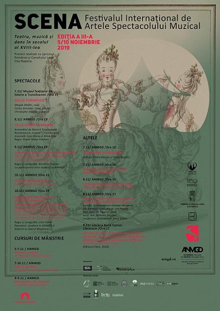 5-10 noiembrie Scena – Festivalul Internațional de Artele Spectacolului Muzical