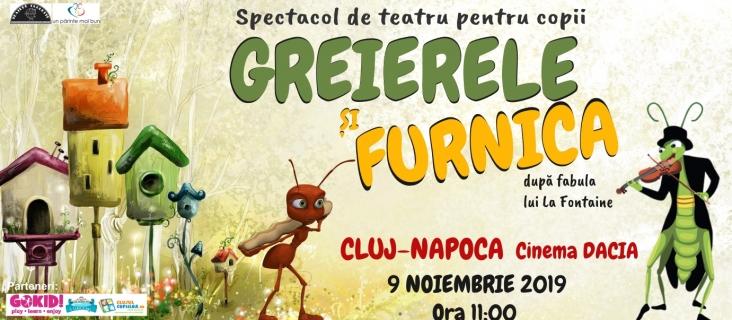 9 noiembrie Greierele și furnica