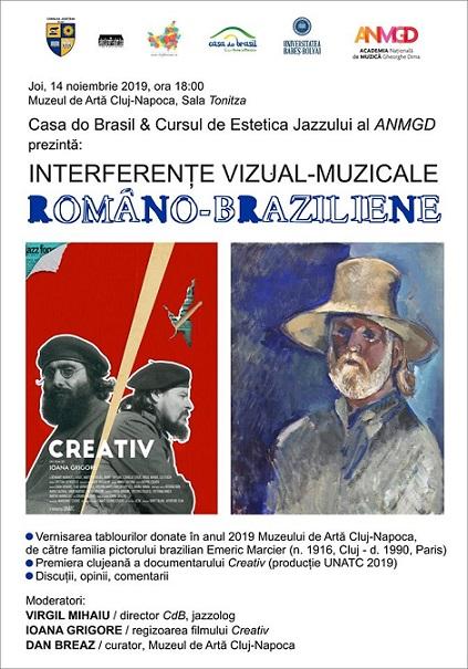 Interferențe muzical-vizuale româno-braziliene
