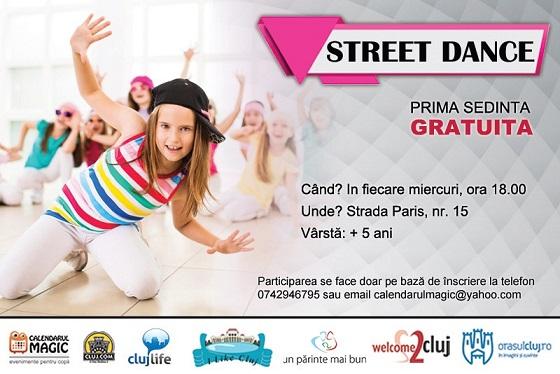 Street dance pentru copii