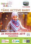 Targ pentru copii Active Baby
