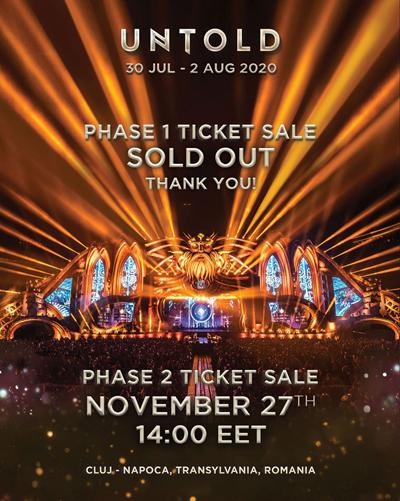 bilete Untold 2020