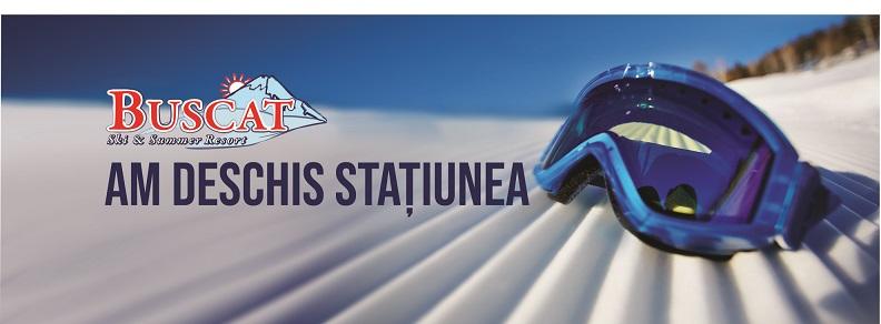A început noul sezon de ski la Buscat Ski Resort!