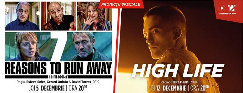 Cinemateca TIFF în decembrie: umor nebun, science-fiction și Robert Pattinson la dublu