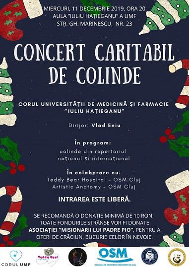 Concert caritabil de colinde