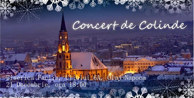 21 decembrie Concert de colinde