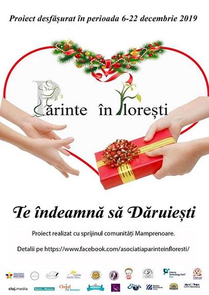 6-22 decembrie Părinte inFlorești te indeamnă să Dăruiești