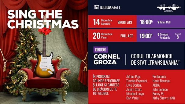20 decembrie Sing the Christmas