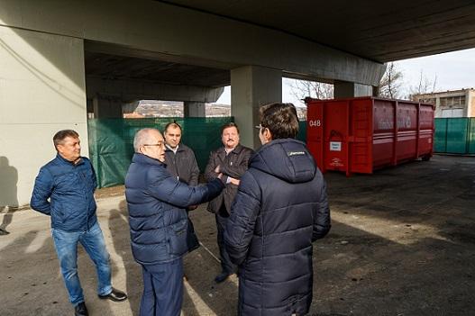 Deschidere puncte de colectare a deșeurilor