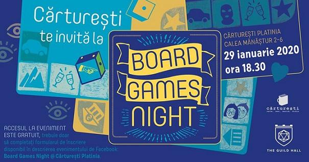 29 ianuarie Board Games Night