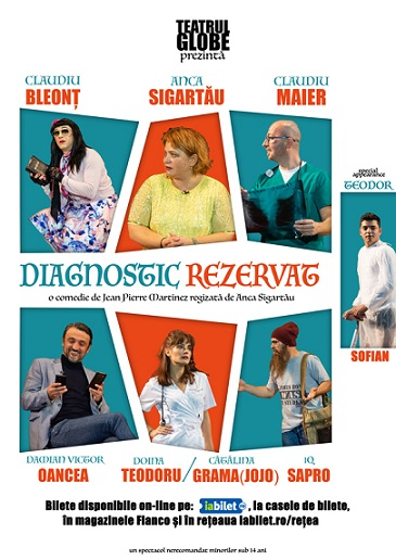 Castigatorii invitatiilor duble la spectacolul Diagnostic Rezervat