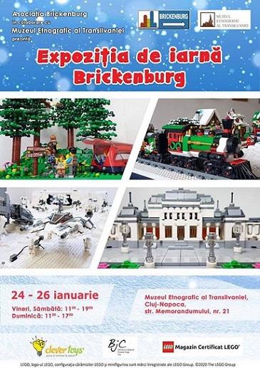 24-26 ianuarie Expoziția de iarnă Brickenburg