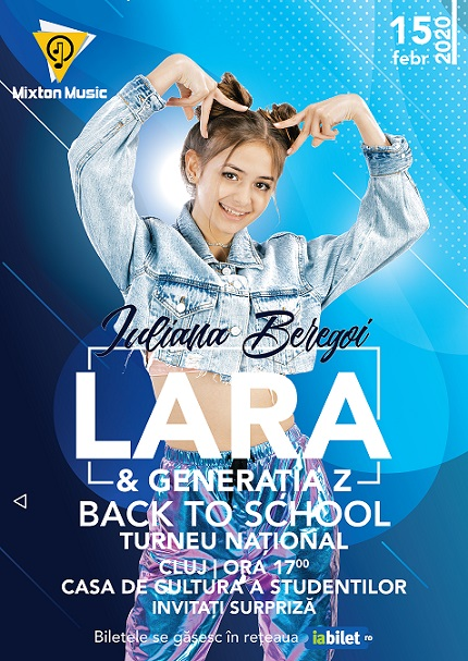 15 februarie Lara & Generația Z: Back to School