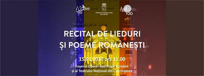 Recital de Lieduri și Poeme Românești