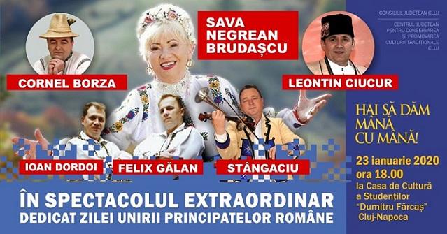 Spectacol festiv de Ziua Unirii Principatelor Române