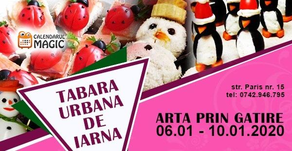 6-10 ianuarie Tabara de iarna pentru copii