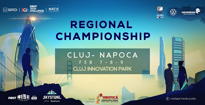 7-9 februarie Campionatul Regional de robotică