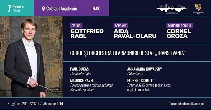 7 februarie Concert vocal-simfonic