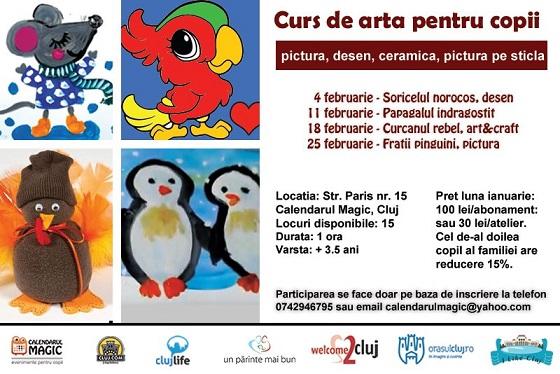Curs de arta Junior pentru copii
