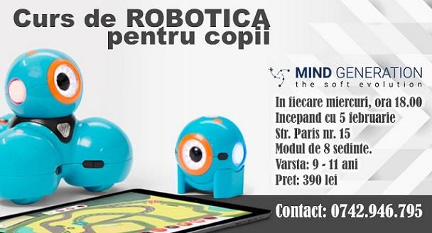Curs de robotica pentru copii