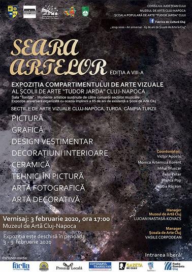 Expoziția Seara Artelor