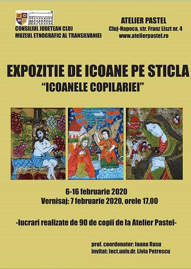 6-16 februarie Expozitia Icoanele copilariei