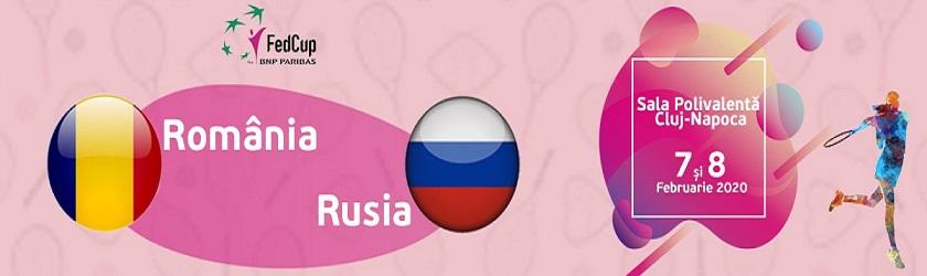 Fed Cup Romania-Rusia