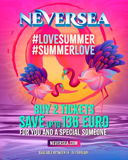 Campania Summer Love îți aduce prețuri speciale la Neversea