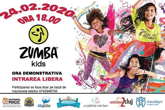 24 februarie Zumba Kids