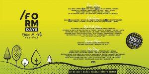 Form Days , Festivaluri si concerte Cluj