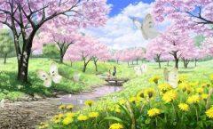 Pe aripile primăverii