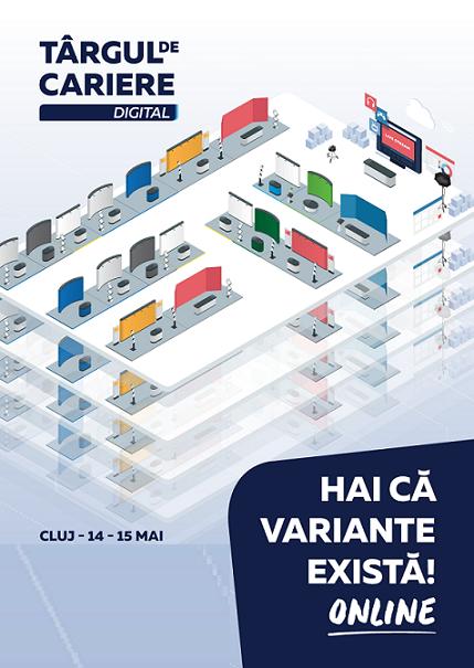 Targul de Cariere organizeaza cinci evenimente digitale in luna mai 2020