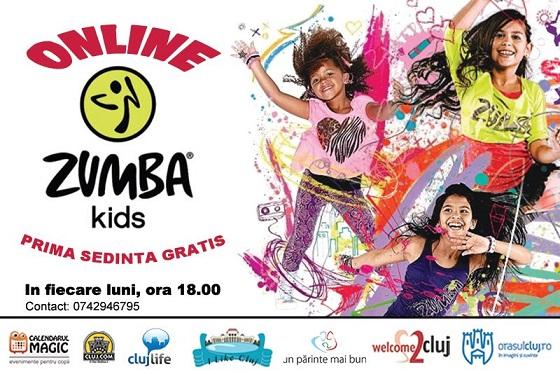 27 aprilie Zumba Kids