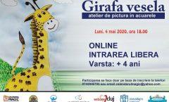 Girafa vesela