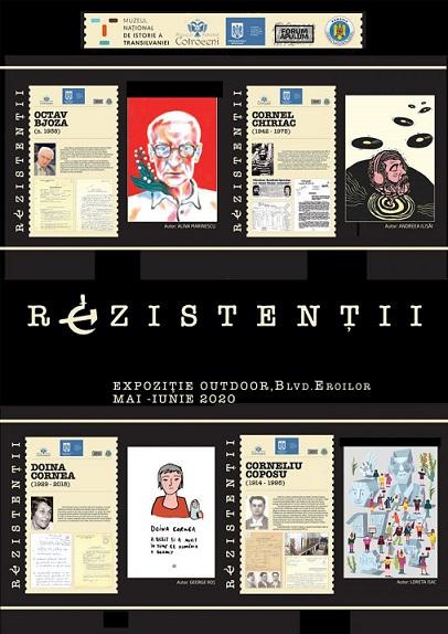 """Expoziția """"Rezistenții. Amintire și recunoștință"""""""