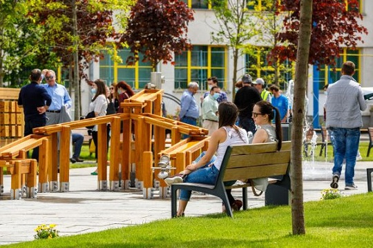 Parcul Între Lacuri, un nou loc de recreere modern pentru clujeni