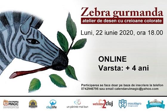 22 iunie Zebra gurmanda