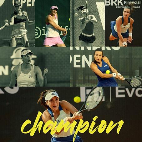 Ruse câștigă trofeul Winners Open. Marele premiu, înmânat de Simona Halep