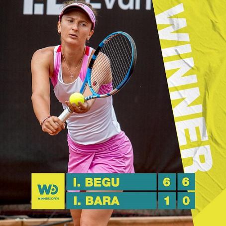 Begu și Ruse vor juca finala Winners Open