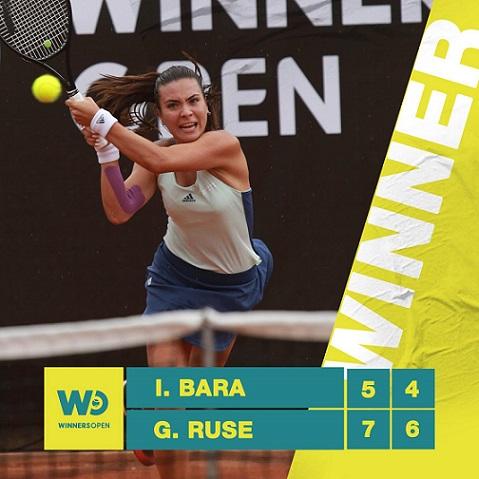 Gabriela Ruse a câștigat grupa A