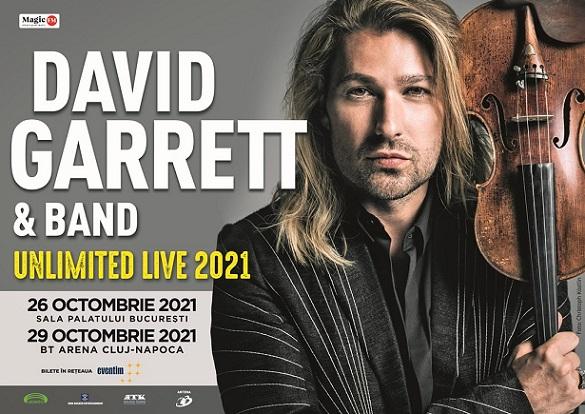 Unlimited live David Garrett