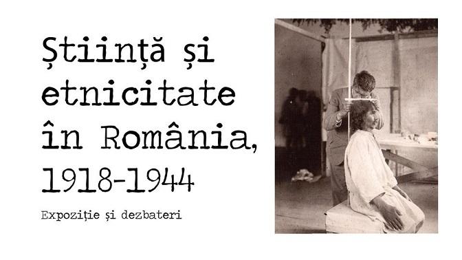 Expozitia Știință și etnicitate în România,