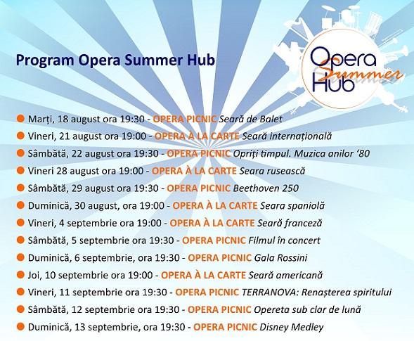 Opera Summer Hub 2020