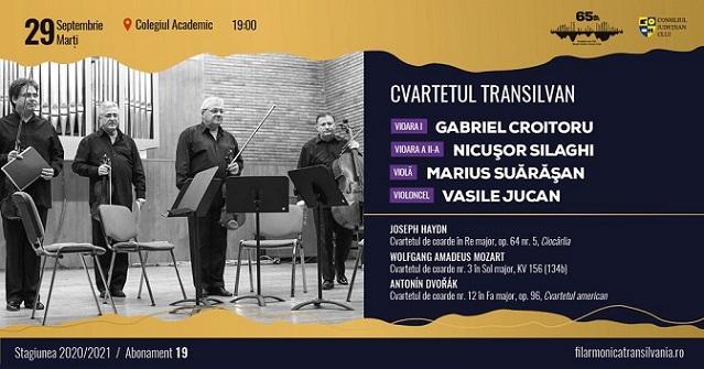 Recital Cvartetul Transilvan
